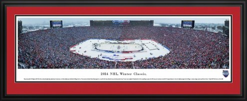 Detroit Red Wings Winter Classic Panorama