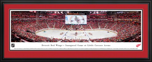 Detroit Red Wings 1st Game at Little Caesars Arena Panorama