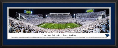 Penn State Nittany Lions White-Out Football Panorama