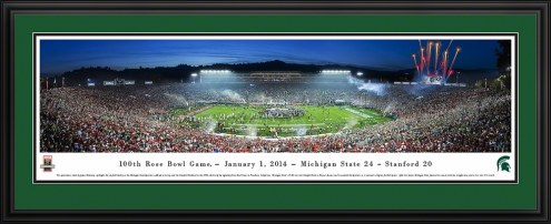 Michigan State Spartans 2014 Rose Bowl Champions Panorama