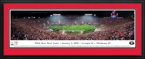 Georgia Bulldogs 2018 Rose Bowl Champions Panorama