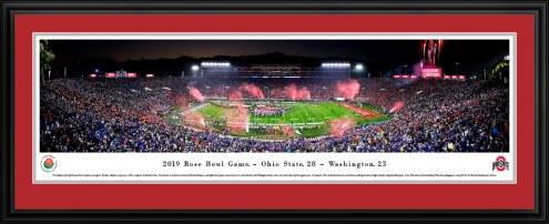 Ohio State Buckeyes 2019 Rose Bowl Champions Panorama