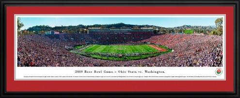 Ohio State Buckeyes vs. Washington Huskies 2019 Rose Bowl Game Panorama