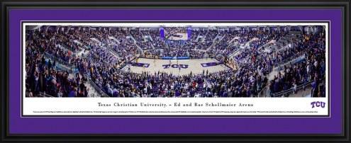 Texas Christian Horned Frogs Basketball Panorama
