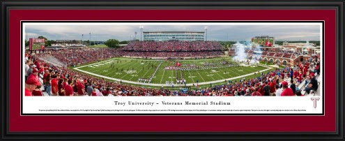 Troy Trojans Football Panorama