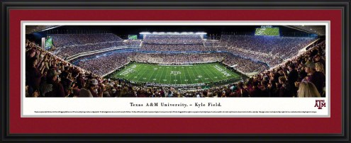 Texas A&M Aggies 50 Yard Line Stadium Panorama
