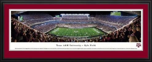 Texas A&M Aggies 50 Yard Line Stadium Panorama