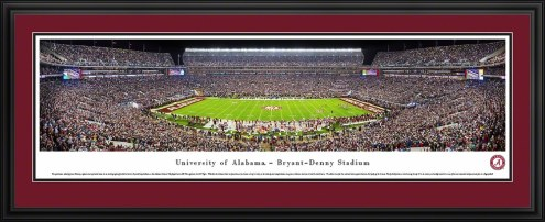 Alabama Crimson Tide 50 Yard Line Stadium Panorama