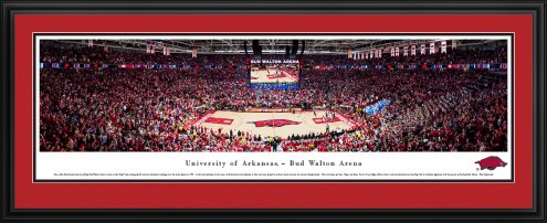 Arkansas Razorbacks Basketball Panorama