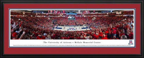 Arizona Wildcats McKale Memorial Center Panorama
