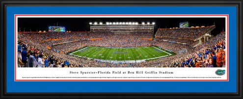 Florida Gators 50 Yard Line Stadium Panorama