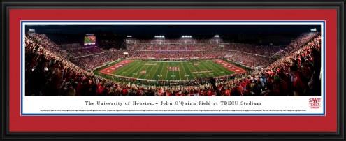 Houston Cougars 50 Yard Line Stadium Panorama
