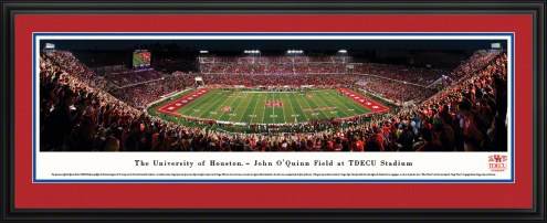 Houston Cougars 50 Yard Line Stadium Panorama