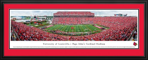 Louisville Cardinals 50 Yard Line Stadium Panorama
