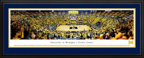 Michigan Wolverines Basketball Panorama