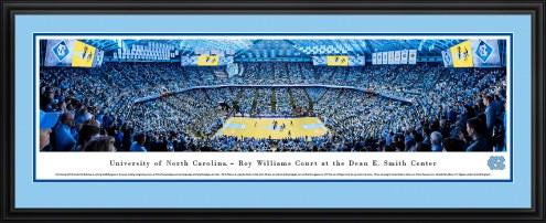 North Carolina Tar Heels Basketball Panorama