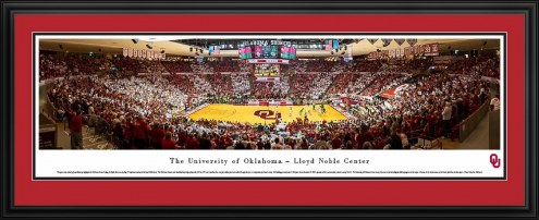 Oklahoma Sooners Basketball Panorama