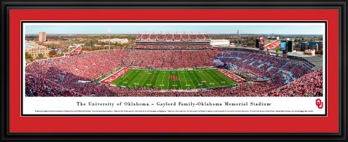 Oklahoma Sooners Football Panorama