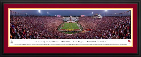 USC Trojans Football Panorama
