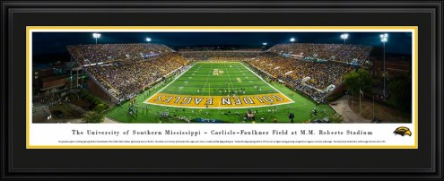 Southern Mississippi Golden Eagles End Zone Panorama