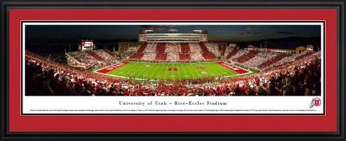 Utah Utes Stripe Football Panorama