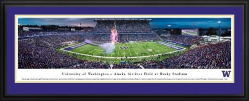 Washington Huskies 50 Yard Line Stadium Panorama