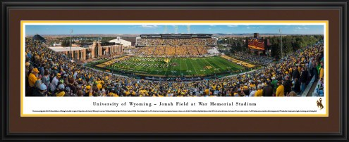 Wyoming Cowboys Football Panorama