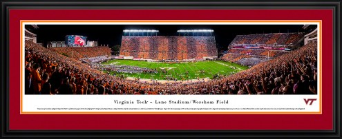 Virginia Tech Hokies Stripe Football Panorama