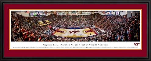 Virginia Tech Hokies Basketball Panorama