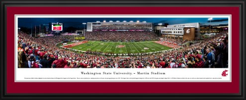Washington State Cougars 50 Yard Line Stadium Panorama