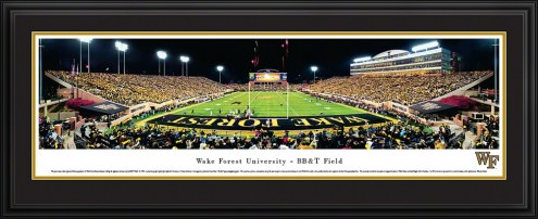 Wake Forest Demon Deacons End Zone Panorama