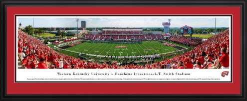 Western Kentucky Hilltoppers 50 Yard Line Stadium Panorama