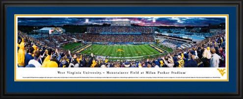 West Virginia Mountaineers 50 Yard Line Stadium Panorama