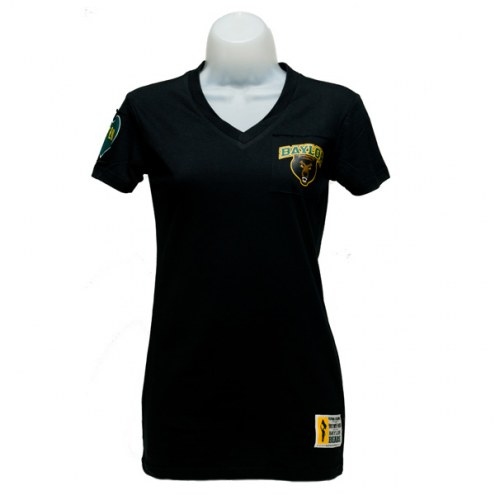 Baylor Bears Women's Black Victory V-Neck