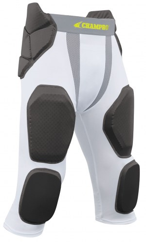 Champro Man-Up TRI-FLEX  Youth 7 Pad Integrated Football Girdle