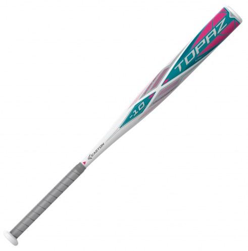 Easton FP20TPZ TOPAZ Fastpitch Softball Bat (-10) - SCUFFED