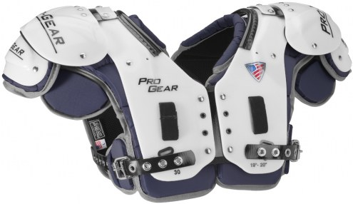 Pro Gear Alpha Series Adult Football Shoulder Pads - FB/LB