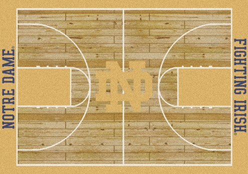 Notre Dame Fighting Irish College Home Court Area Rug