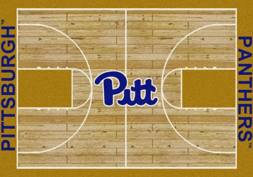 Pittsburgh Panthers College Home Court Area Rug