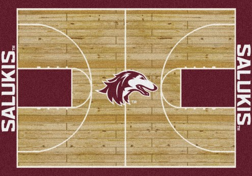 Southern Illinois Salukis College Home Court Area Rug