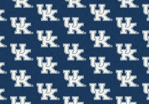 Kentucky Wildcats College Repeat Area Rug