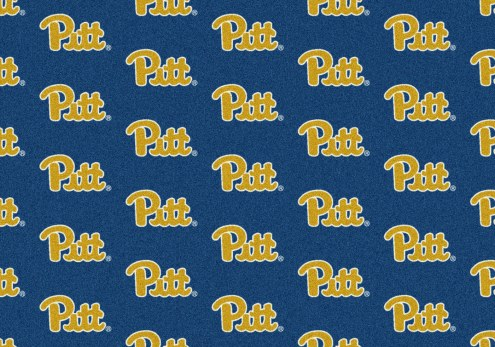 Pittsburgh Panthers College Repeat Area Rug