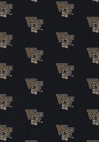 Wake Forest Demon Deacons College Repeat Area Rug