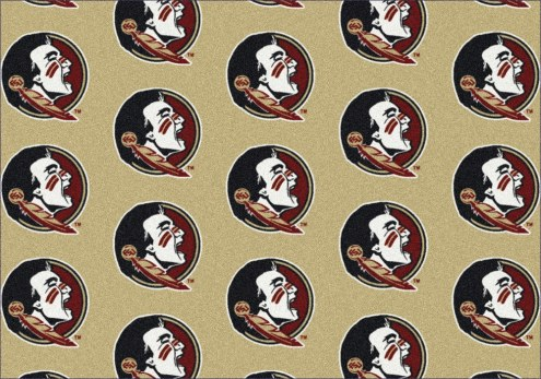Florida State Seminoles College Repeat Area Rug