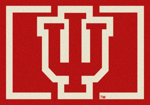 Indiana Hoosiers College Team Spirit Area Rug