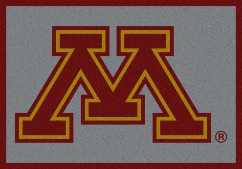 Minnesota Golden Gophers College Team Spirit Area Rug