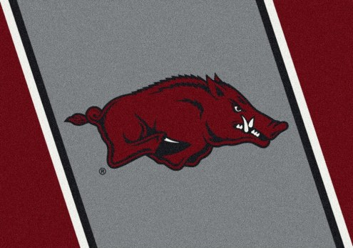 Arkansas Razorbacks College Team Spirit Area Rug