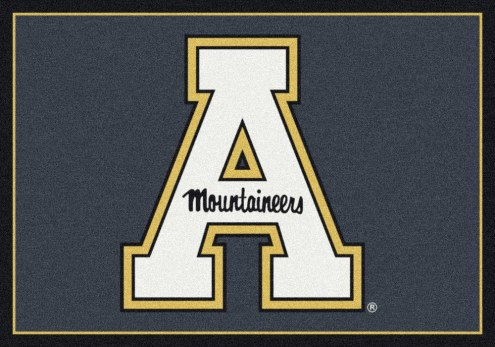 Appalachian State Mountaineers College Team Spirit Area Rug