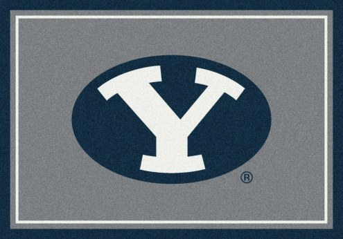 BYU Cougars College Team Spirit Area Rug