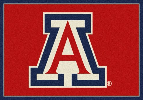 Arizona Wildcats College Team Spirit Area Rug